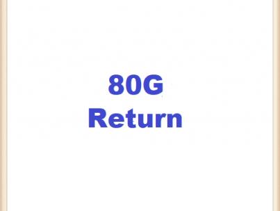80G-return
